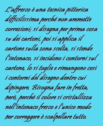 Corrado Augias e la bellezza di Roma la tecnica dell'affresco
